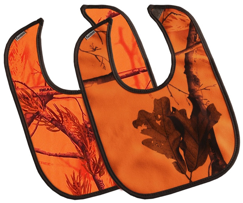 Realtree AP? Blaze Orange Bibs, 2 Pack