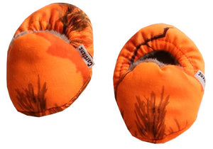 Realtree? Blaze Orange Baby Booties