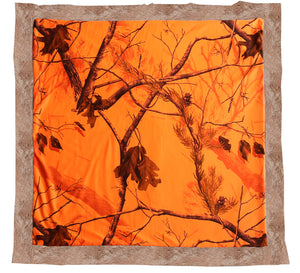 Realtree AP? Blaze Orange Baby Blanket