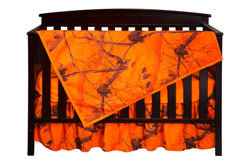 Realtree AP Blaze Crib Set