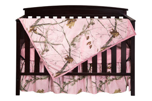 Realtree AP Pink Crib Set