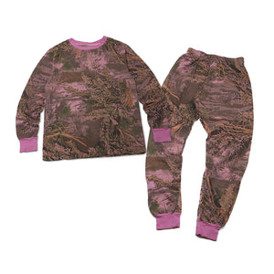 Realtree Max-1? Pajamas, Over-dye Pink
