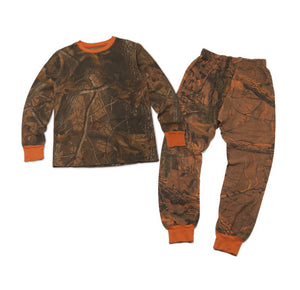 Realtree Xtra? Pajamas, Over-dye Orange