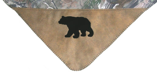 Realtree AP® Throw – Black Bear