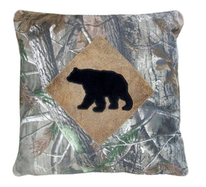 Realtree AP® Pillow – Black Bear