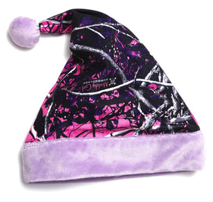Muddy Girl Santa Hat