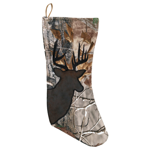 Realtree AP Buck Christmas Stocking