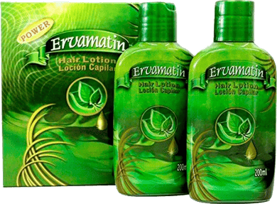 Ervamatin Hair Lotion | Natural Hair Loss Treatment