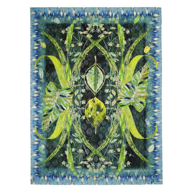 Arjuna Leaf Viridian Throw