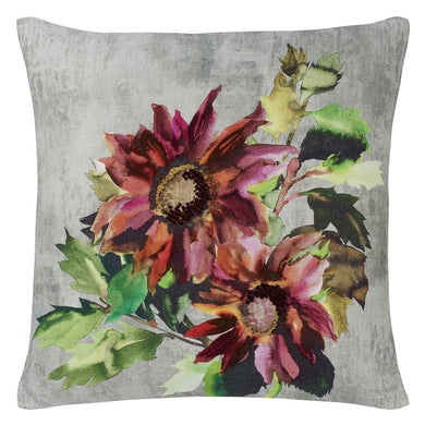 Indian Sunflower Grande Berry Cushion