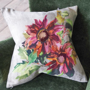 Coussin Indian Sunflower Grande Berry