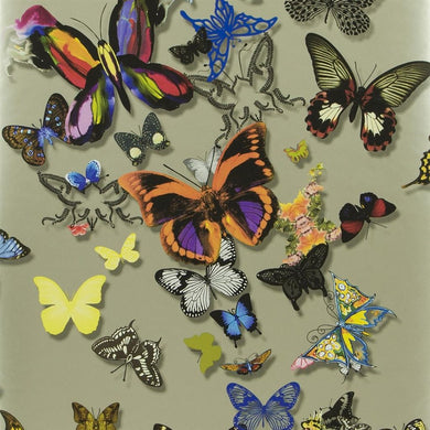 Butterfly Parade - Platine Wallpaper