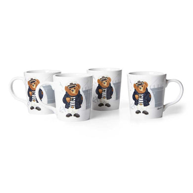 Mug Haven Navy Bear (Set de 4)
