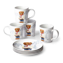 Charger l'image dans la galerie, Mug Haven Flag Bear (Set de 4)