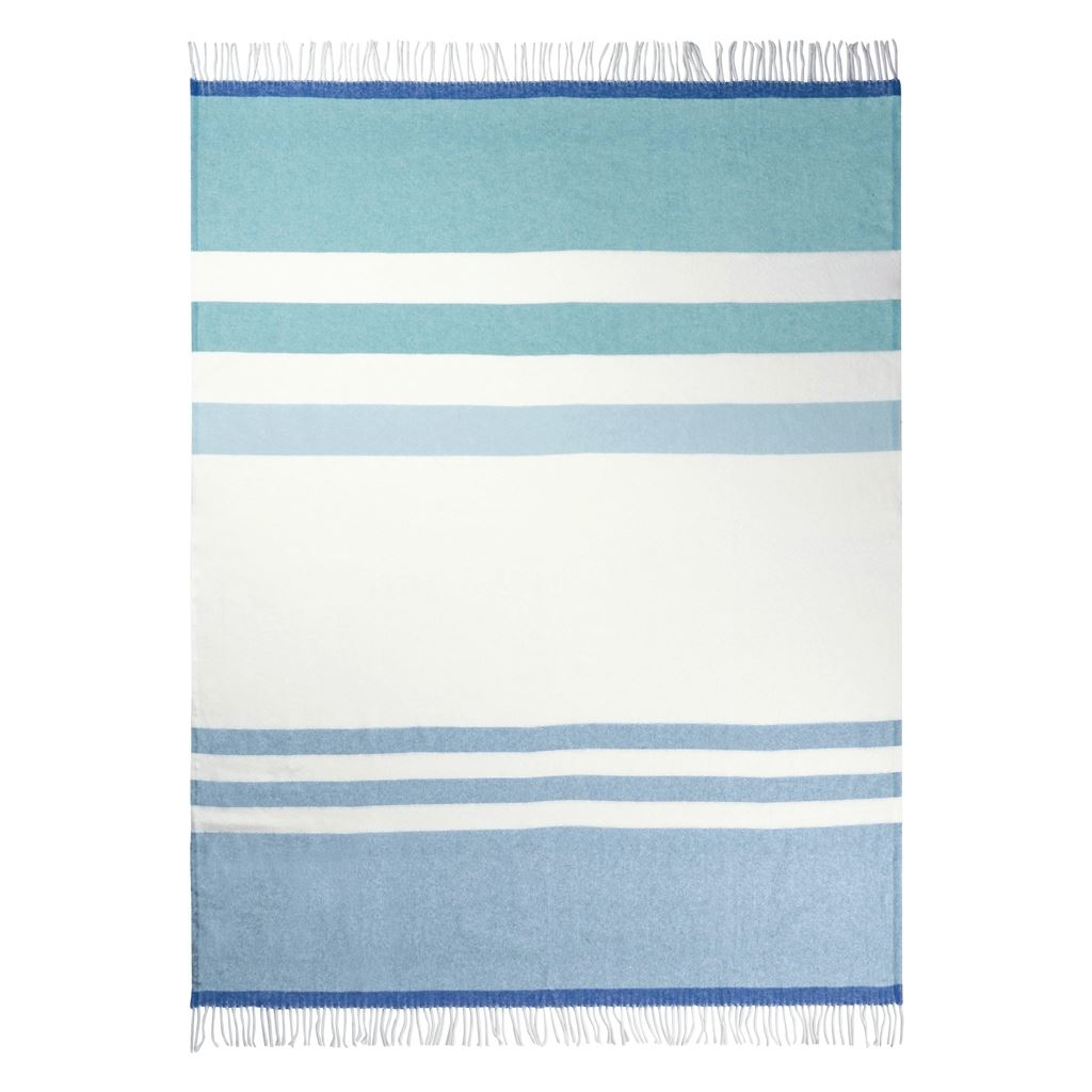 Chaumont Turquoise Throw