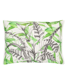 Charger l'image dans la galerie, Palme Botanique Emerald Outdoor Cushion