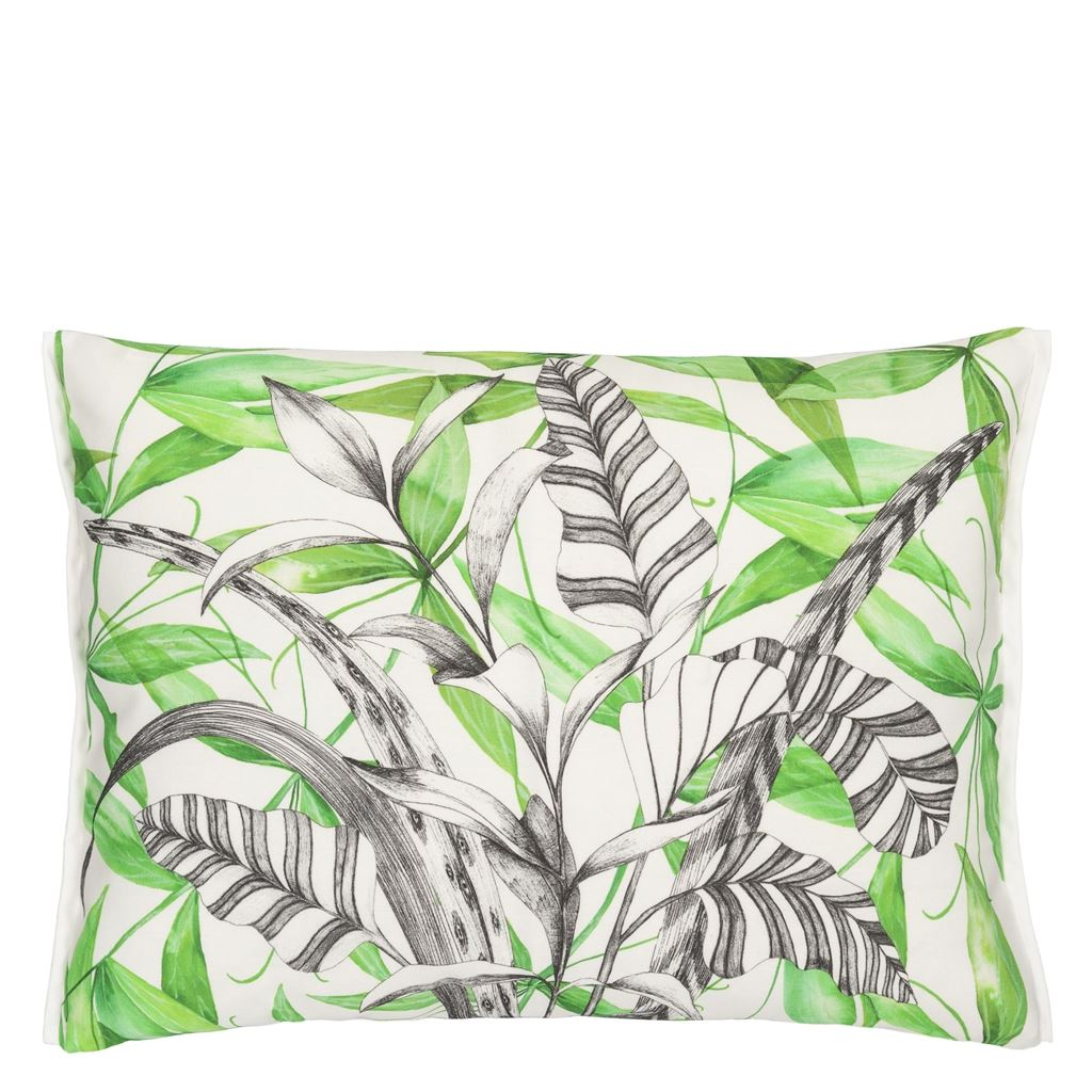 Palme Botanique Emerald Outdoor Cushion