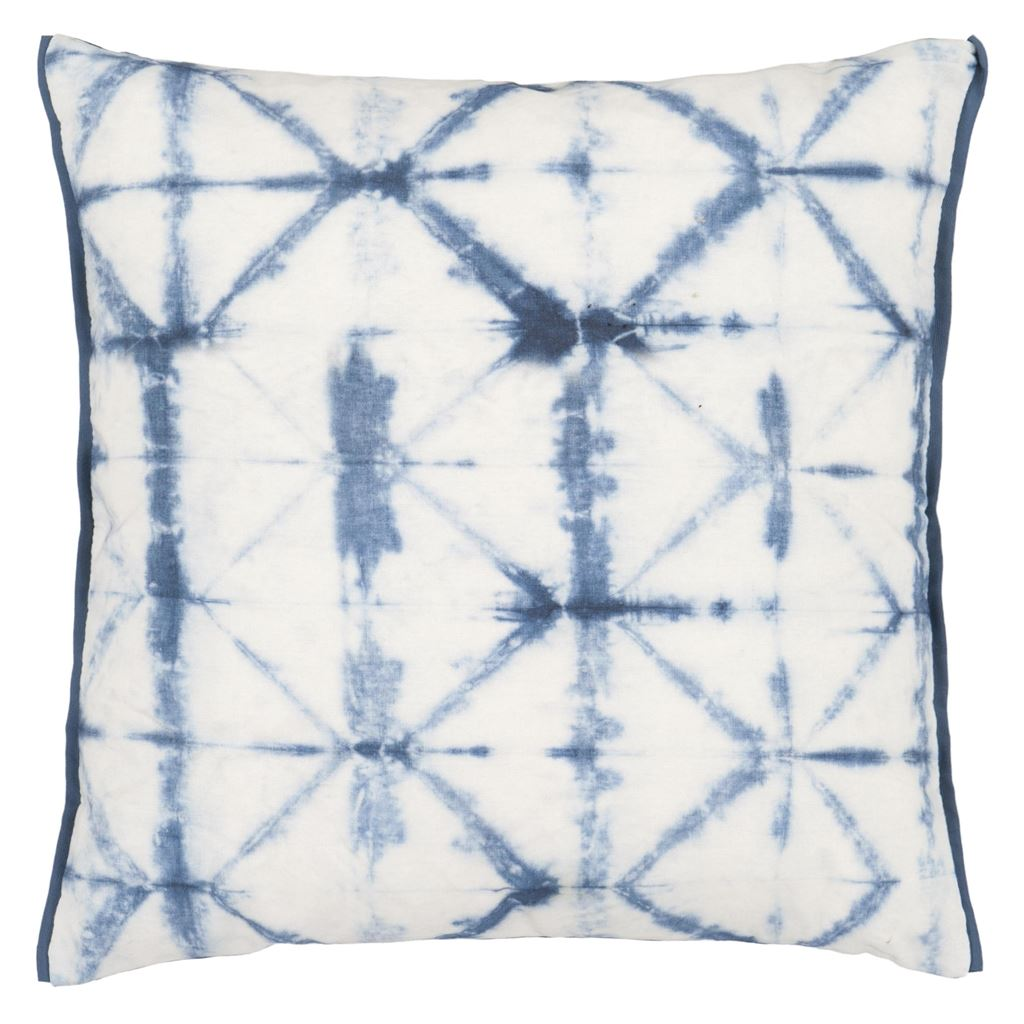Seraya Indigo Outdoor Cushion