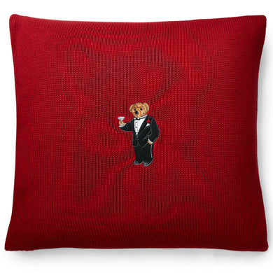 Coussin Martini Bear Red Ralph Lauren Home