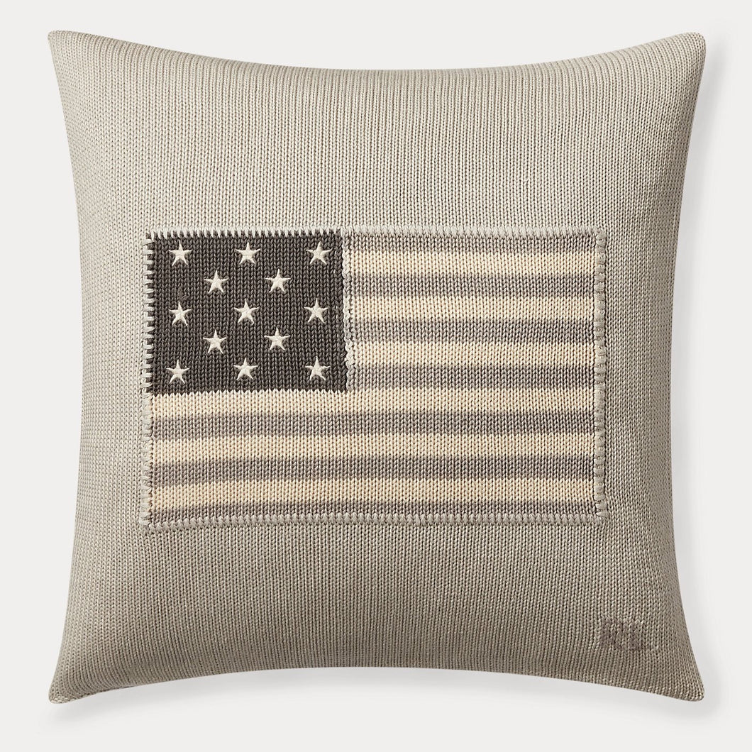 Coussin RL Flag Gris
