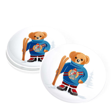 Assiettes Dessert Haven Ski Bear (Set de 4)