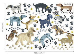 Stickers Muraux Enfant Walkies