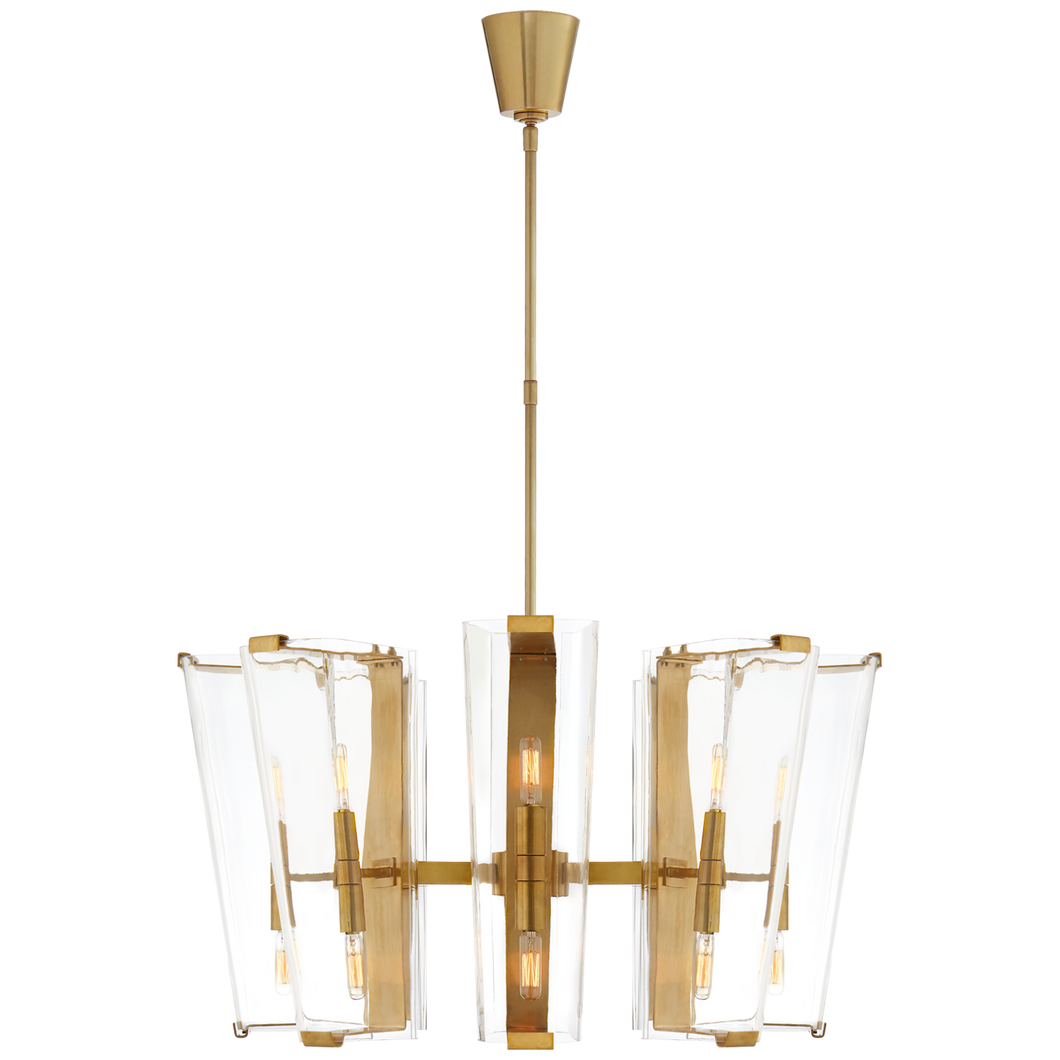Chandelier Alpine Medium - Laiton