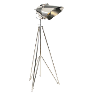 Lampe Trépied Cutter - Nickel