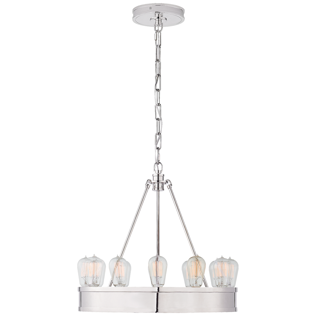 Chandelier Roark 20'' Nickel