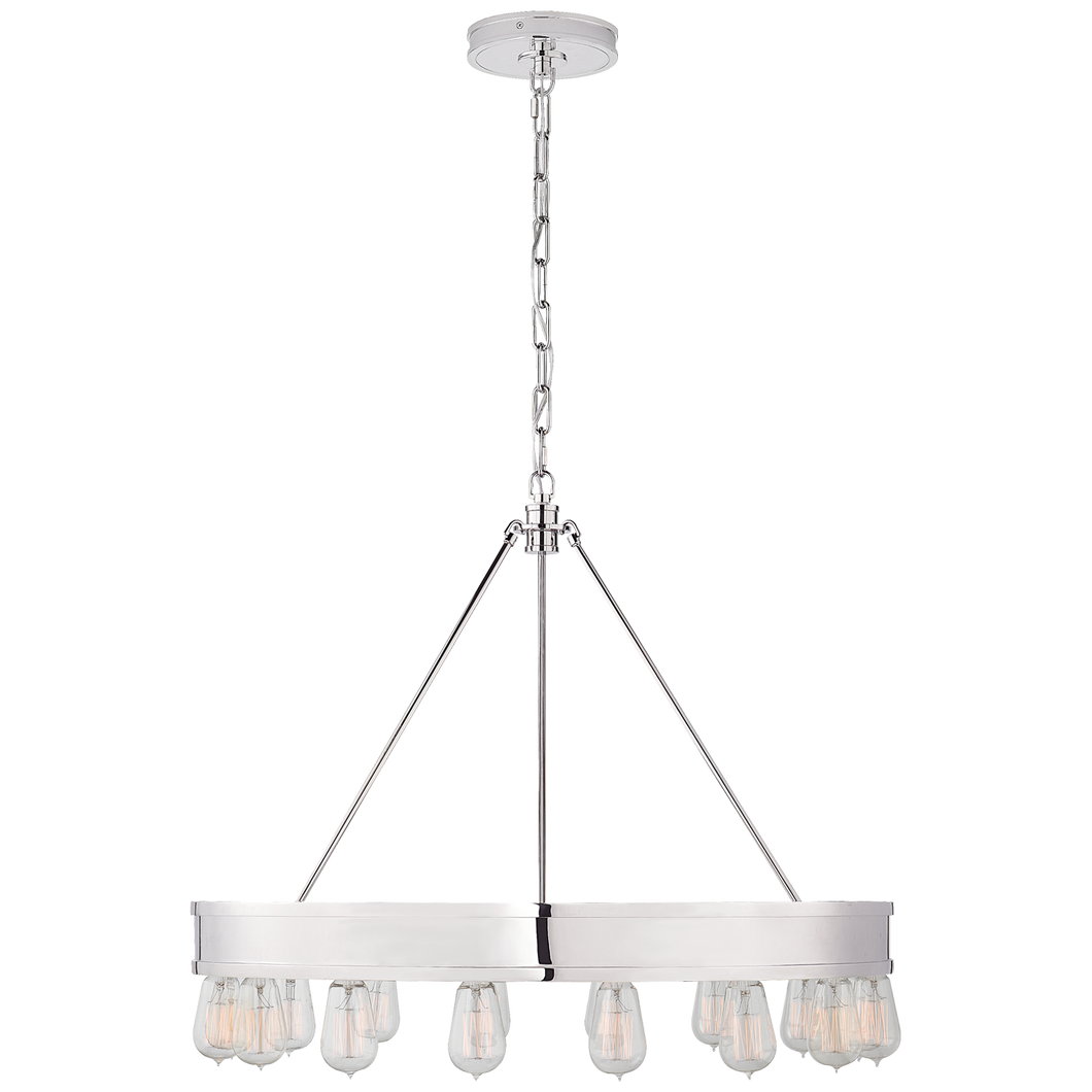 Chandelier Roark 30'' Nickel