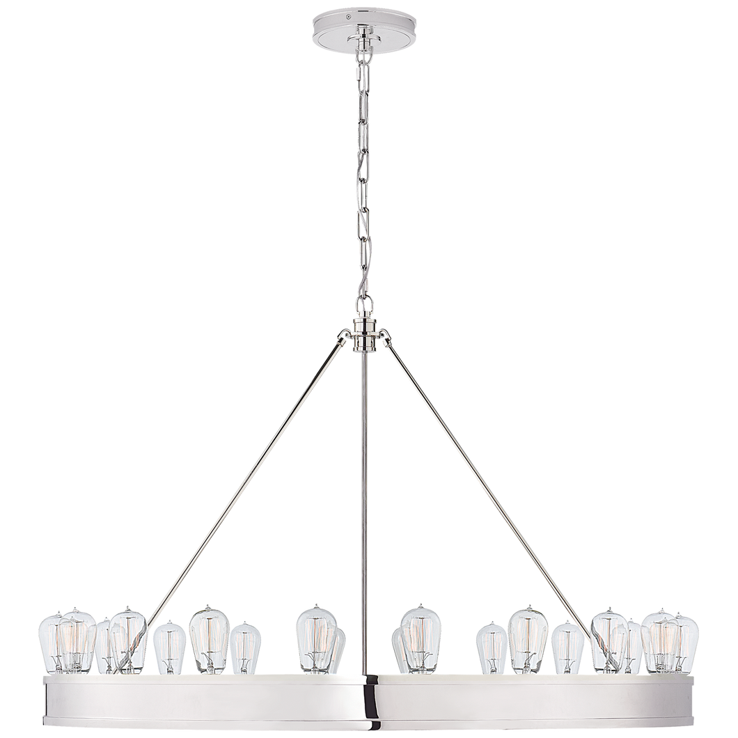 Chandelier Roark 40'' Nickel