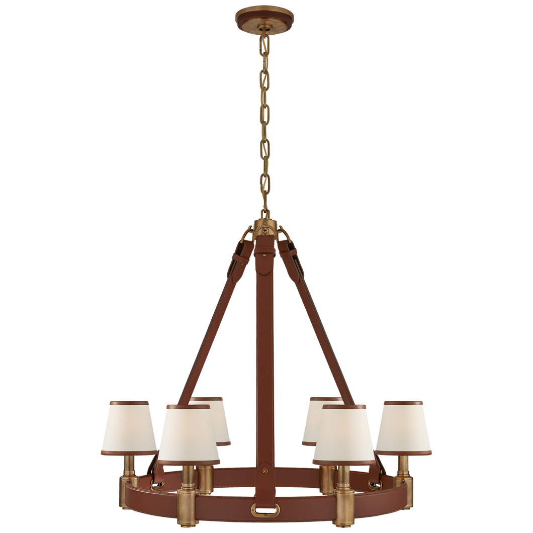 Chandelier Riley Laiton - Saddle