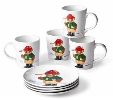 Assiettes Dessert Haven Polo Bear (Set de 4)