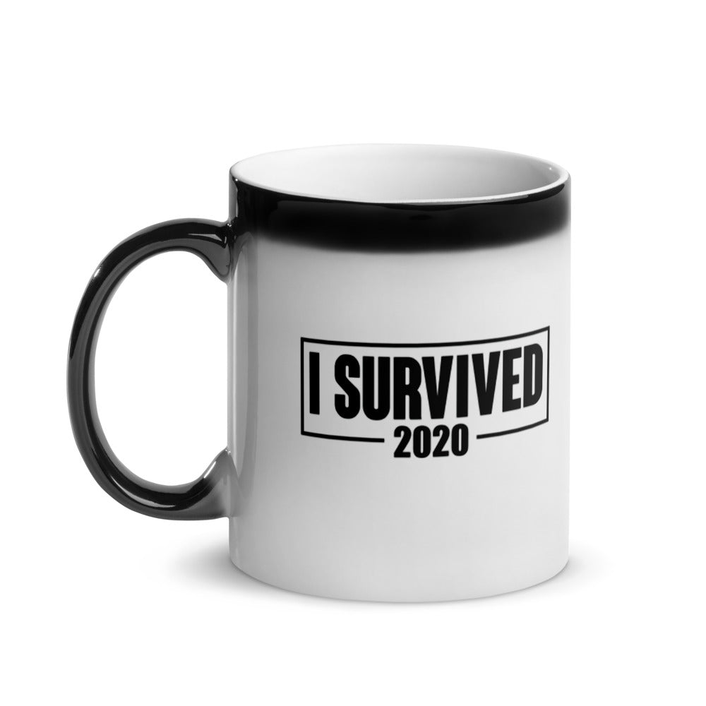 """I Survived 2020"" Magic Mug (Changes color with hot beverages!)"
