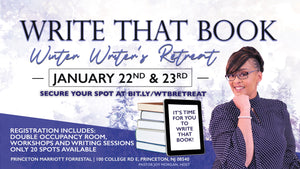 Write That Book Retreat (Double Occupancy)