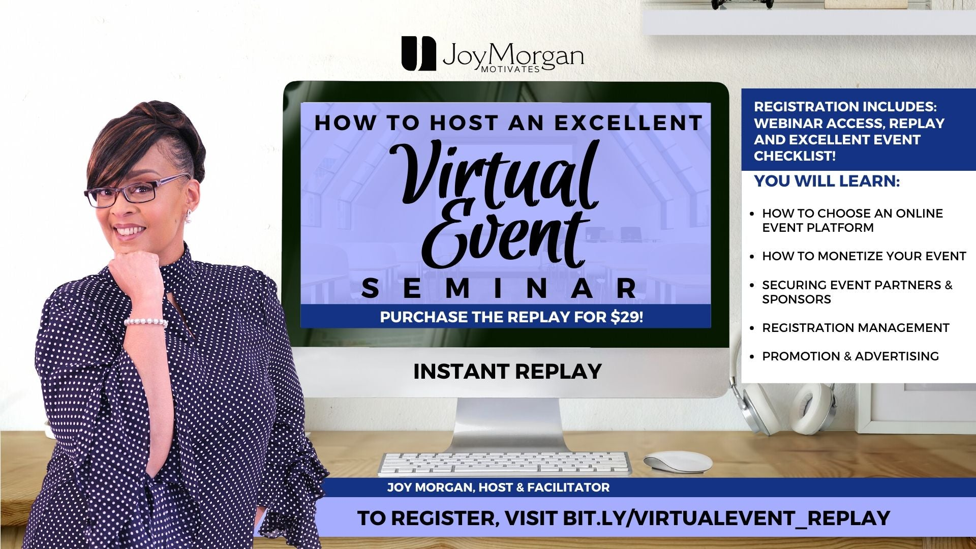 How to Host a Virtual Event in Excellence Replay