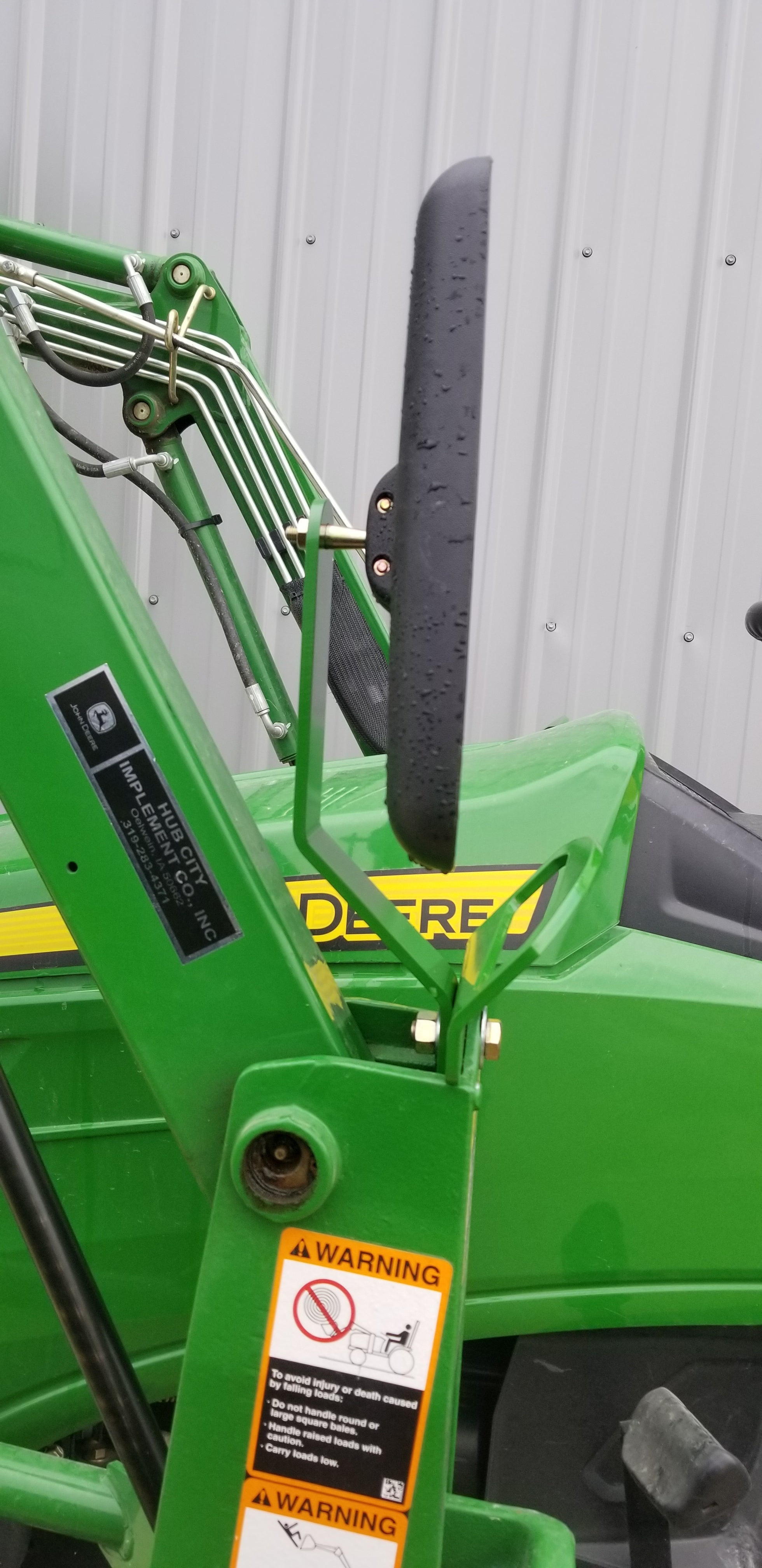 JD Loader Grab Handles, Mirror Extensions