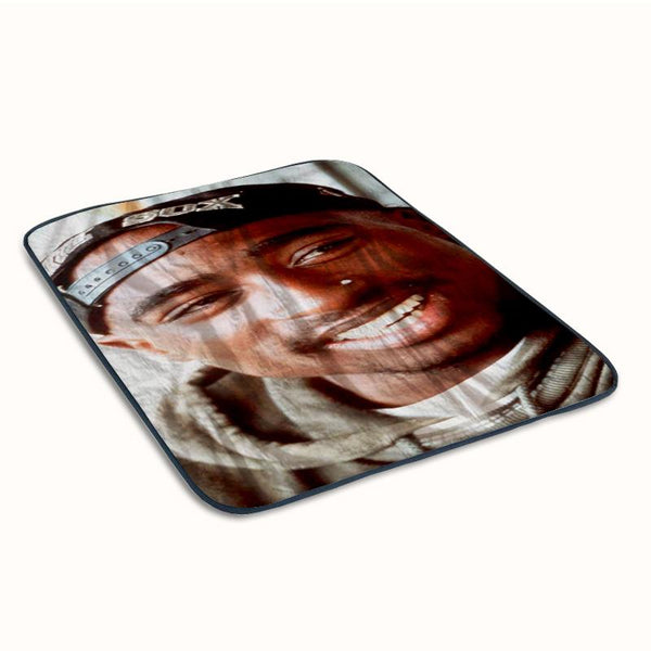 2pac Tupac Shakur Face Fleece Blanket