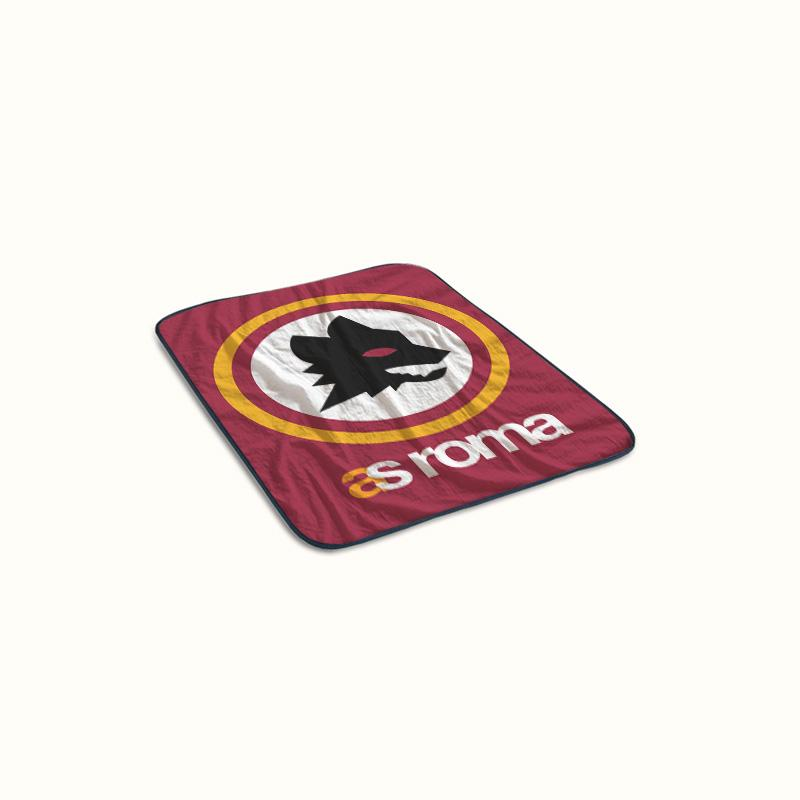 AS Roma Logo Fleece Blanket