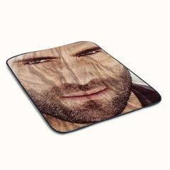 Adam Levine Face Fleece Blanket