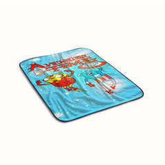 Adventure Time Super Hero Fleece Blanket