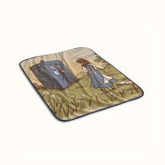 Adventure in The Great Wide Somewhere Fleece Blanket