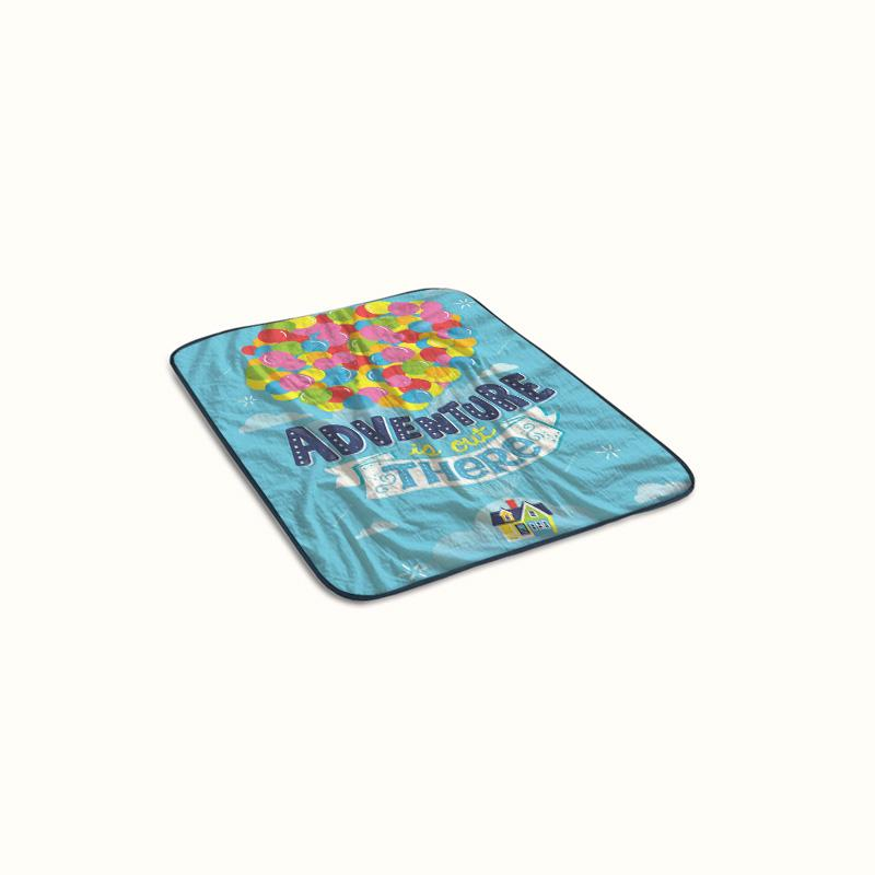 Adventure is Out There Pixar Disney Up Fleece Blanket