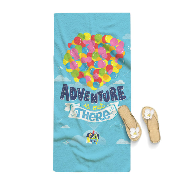 Adventure is Out There Pixar Disney Up Towel