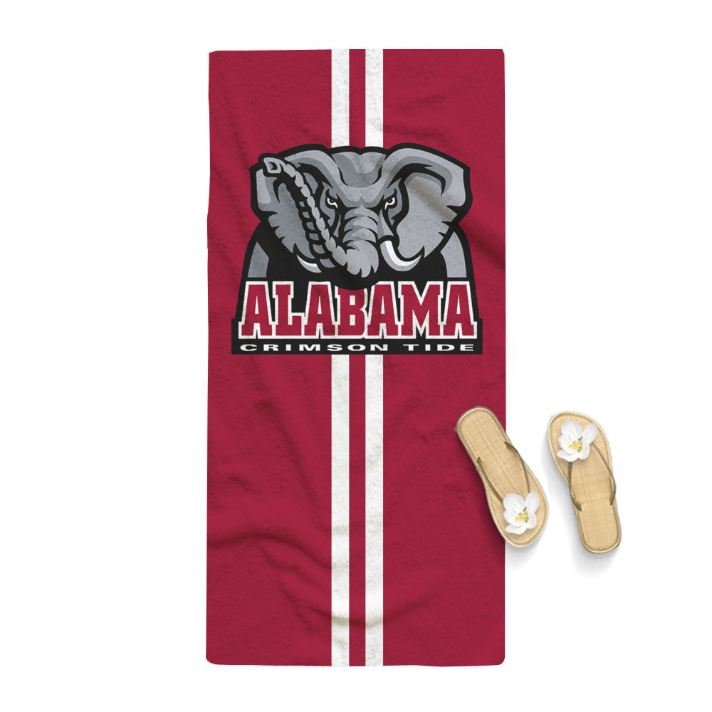 Alabama Crimson Tide NCAA Logo Towel