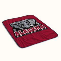 Alabama Crimson Tide NCAA Logo Fleece Blanket