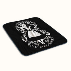 Alice in Wonderland Curiouser and Curiouser 2 Fleece Blanket