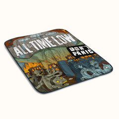 All Time Low Dont Panic Fleece Blanket