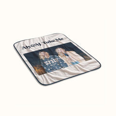 Aly and AJ Take Me Fleece Blanket