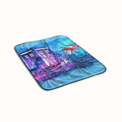 Ariel Tardis Fleece Blanket